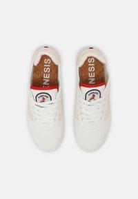 Genesis - G-DAILY ALOHA ZEN UNISEX - Sneakers basse - banana/creme - 3