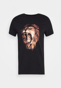 LION - Print T-shirt - black