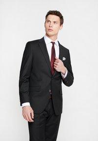 Bugatti - SUIT REGULAR FIT - Costume - black - 2