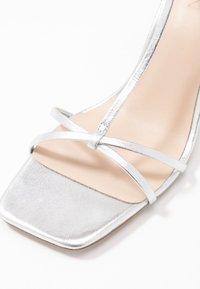 Zign - Korolliset sandaalit - silver - 2