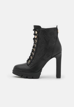 JACLIN - Lace-up ankle boots - black