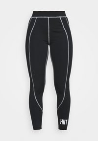 HIIT - VICTORIA SCULPTED LEGGING - Medias - black - 3