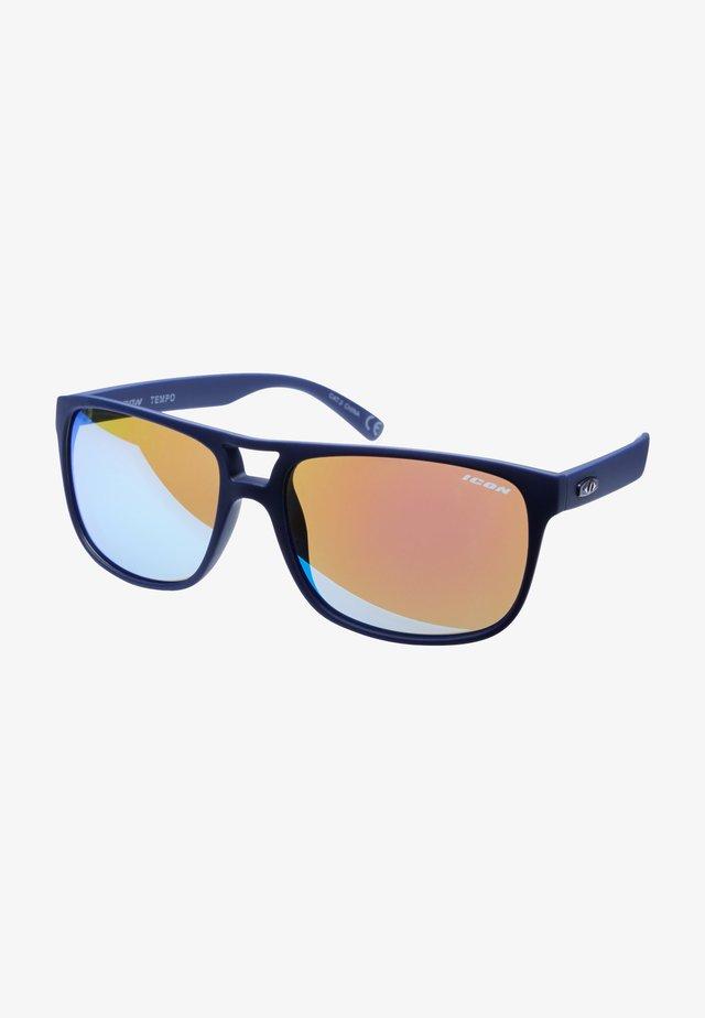 TEMPO - Sports glasses - navy blue