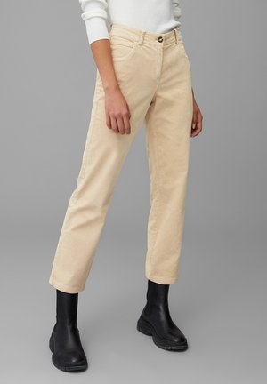 Trousers - vintage stone