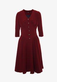 Madam-T - DAISY - Day dress - weinrot - 5