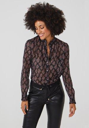 CATALIN PES 637 - Button-down blouse - black