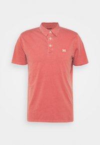 Polo shirt - barn red