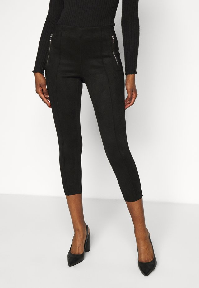VMCAVA ZIP LEGGING - Broek - black