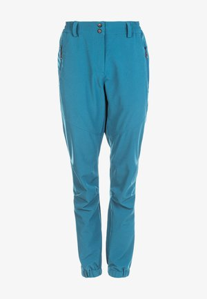 Outdoor trousers - blue coral