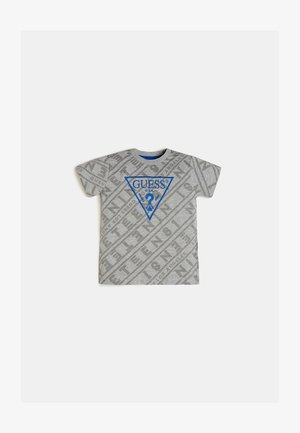 T-shirt con stampa - mehrfarbig grau
