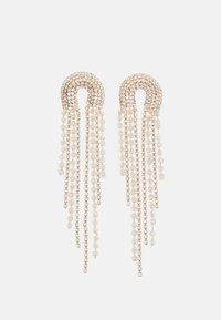 Pieces - PCZANGO EARRINGS - Earrings - gold-coloured/clear - 0