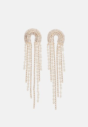 PCZANGO EARRINGS - Boucles d'oreilles - gold-coloured/clear