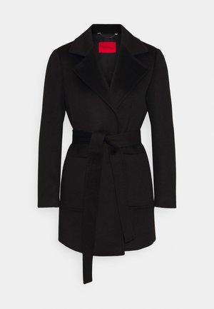 SHORTRUN - Cappotto classico - black