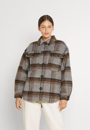 VMDAWN CHECK JACKET  - Light jacket - light grey melange