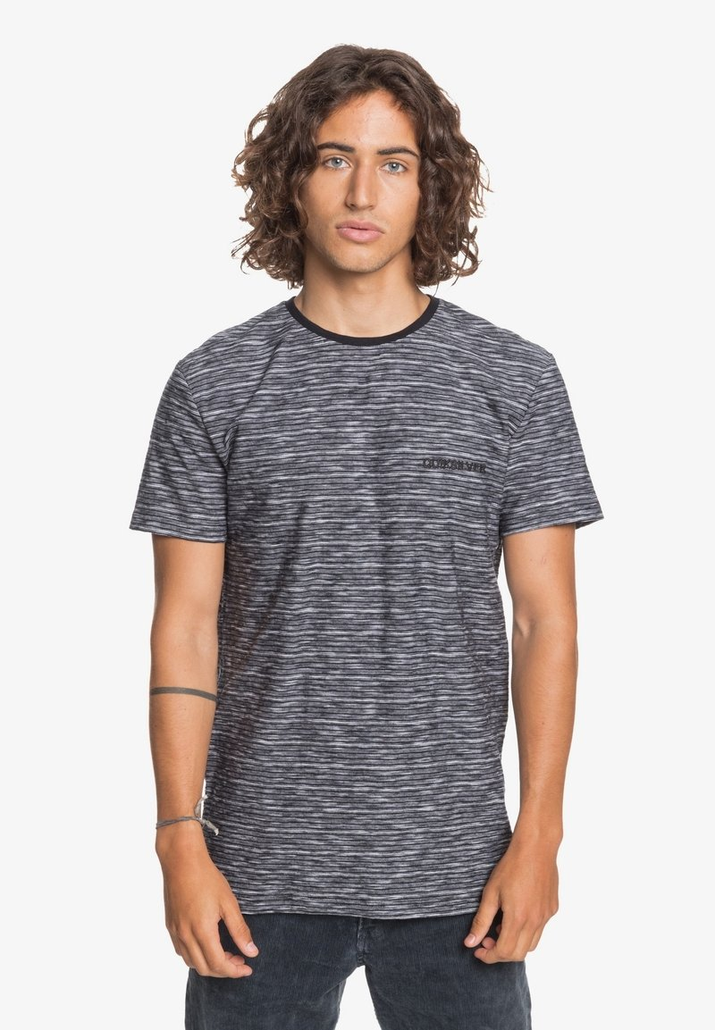 Quiksilver - KENTIN - Print T-shirt - kentin black