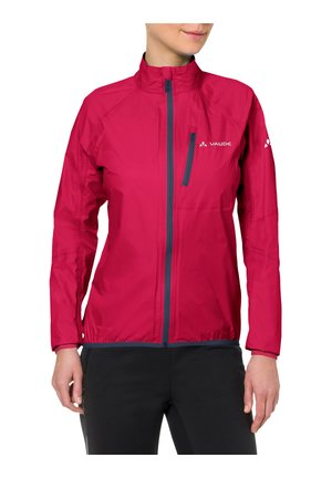 DROP - Waterproof jacket - cranberry