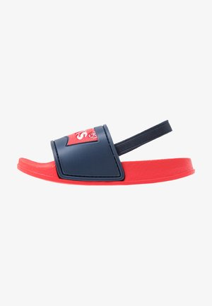 POOL MINI UNISEX - Sandals - red/navy
