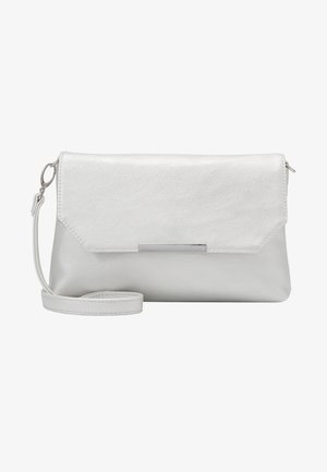 KENZA - Across body bag - silver-coloured