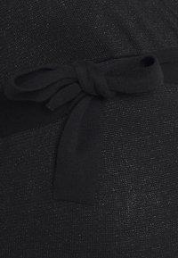 MAMALICIOUS - MLELVA TESS DRESS - Sukienka dzianinowa - black - 2