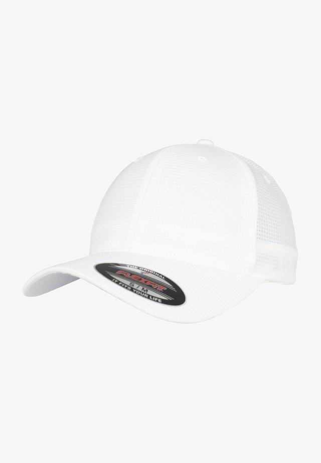 FLEXFIT HYDRO-GRID - Czapka z daszkiem - white