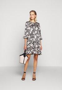 Rebecca Minkoff - FEDERICA DRESS - Denní šaty - black/cream - 1