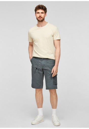 REGULAR FIT  - Cargo trousers - grey