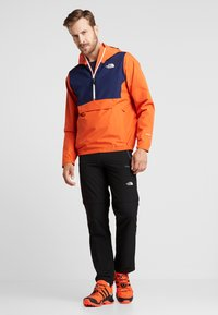 The North Face - WATERPROOF FANORAK - Hardshelljacke - papaya orange - 1