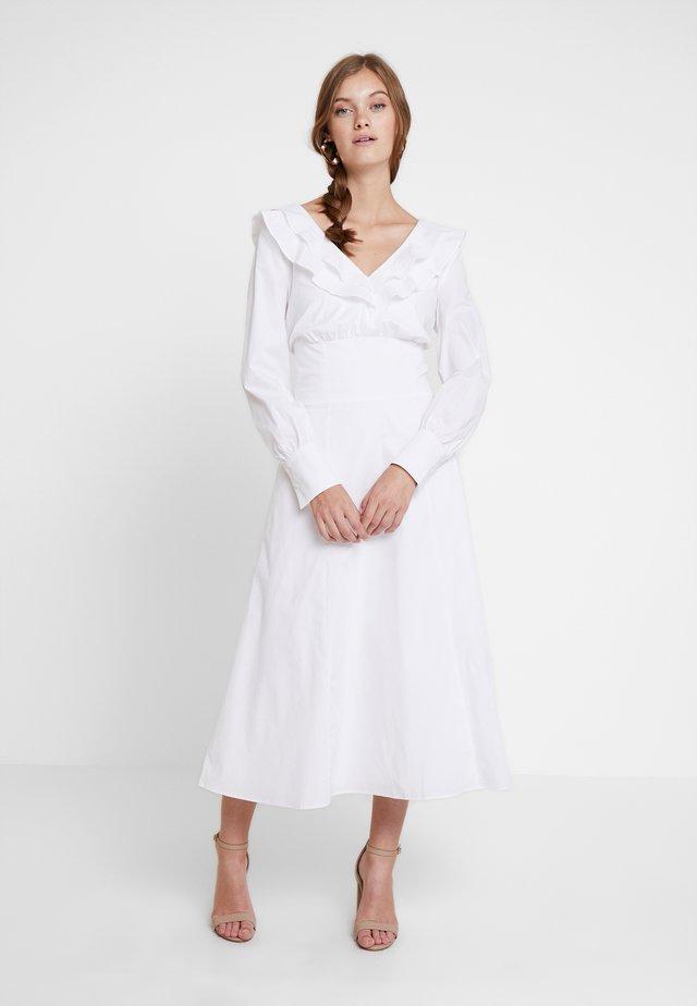 Maxikjole - bright white