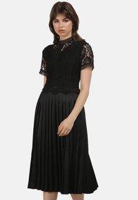 myMo ROCKS - KLEID - Cocktail dress / Party dress - black - 0