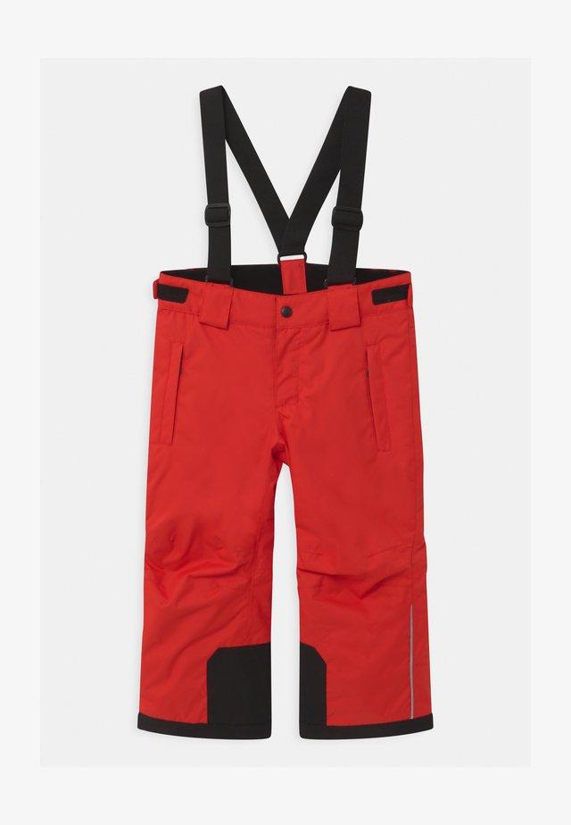 WINTER TAKEOFF UNISEX - Pantaloni da neve - tomato red