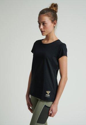 SCARLET - Basic T-shirt - black