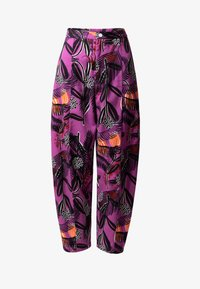 Desigual - DESIGNED BY M. CHRISTIAN LACROIX: - Trousers - red - 4