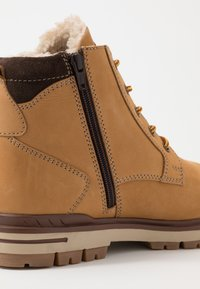 s.Oliver - Lace-up ankle boots - corn - 5