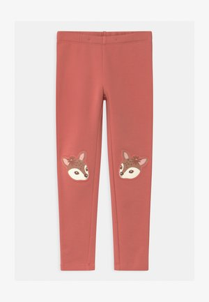 MINI DEER PRINT KNEEPATCH - Leggings - Trousers - dusty pink