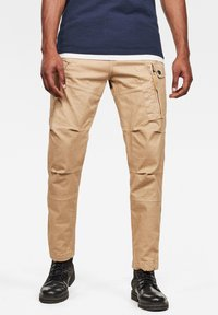 G-Star - ROXIC STRAIGHT TAPERED - Cargo trousers - sahara gd - 0