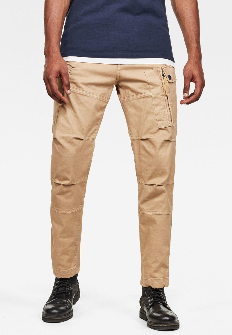 G-Star - ROXIC STRAIGHT TAPERED - Cargo trousers - sahara gd