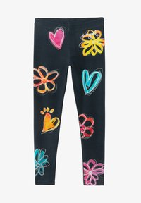 Desigual - Leggings - Trousers - blue - 0