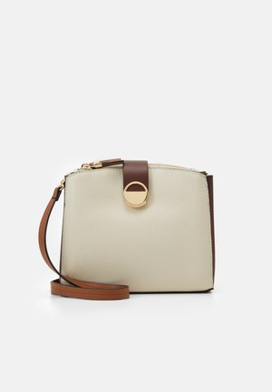 CROSSBODY BAG MELON - Bandolera - ecru