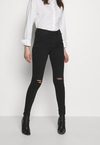 Dorothy Perkins - ALEX - Jeans Skinny Fit - black - 0