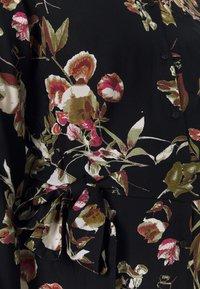 Pieces Maternity - PCMBRENNA DRESS - Vestido camisero - black - 2