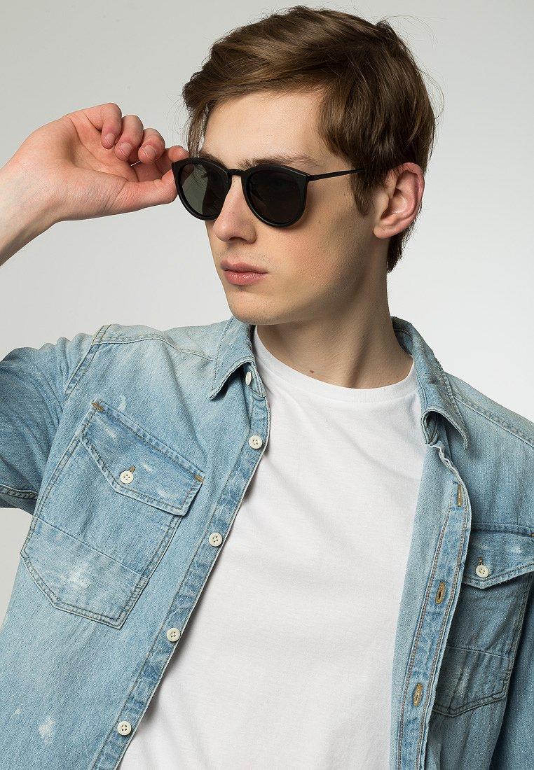 Le Specs - Sluneční brýle - black rubber
