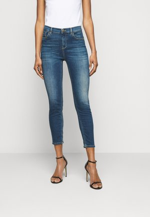 SABRINA SOFT STRETCH - Jeansy Skinny Fit - blue denim