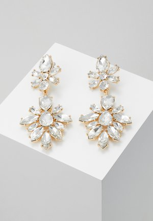 ONLPHILI EARRING - Kolczyki - gold coloured/clear