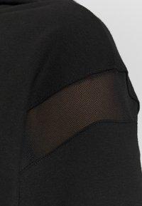 Puma - PAMELA REIF X PUMA FULL ZIP HOODIE - Zip-up hoodie - black - 5