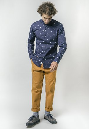 MAN ON THE MOON - Shirt - blue