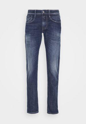 ANBASS - Jeans slim fit - dark blue