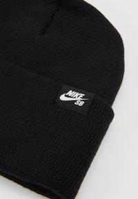 Nike SB - UTILITY - Čepice - black/white - 5