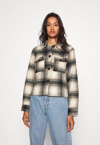 ONLLOU OTW NOOS - Summer jacket - pumice stone/black