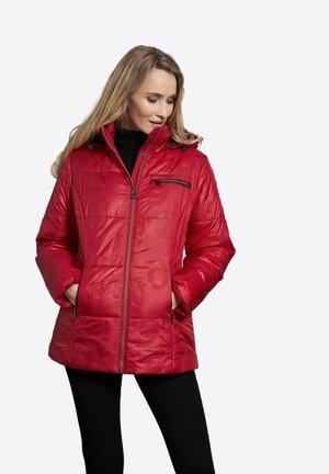 CORA - Halflange jas - scarlet