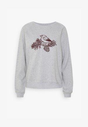 YSTAD RAGLAN CONE BIRD - Collegepaita - grey melange